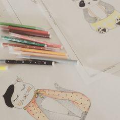 Work in process.. #desing #coccolihome #animals #cushion #cojinesanimales #ilustracion #kidsdecor #kidsdesign