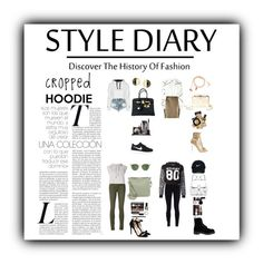 """""""Cropped Hoodie"""" by aniyah-xxxx ❤ liked on Polyvore featuring One Teaspoon, Topshop, Morgan, rag & bone/JEAN, Moschino, adidas, NIKE, Nike Golf, Happy Plugs and Oliver Peoples"""
