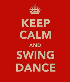 Swing dance...  there's simply not enough of it!