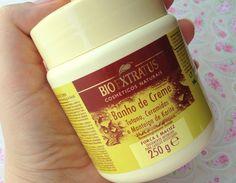 Banho de Creme Tutano, Ceramidas e Manteiga de Karité Bioextratus: máscara nutritiva das boas, facilmente encontrada e que deixa o cabelo macio e hidratado!