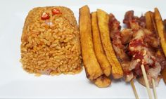 West African Jollof Rice made with brown rice - Recipe