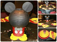 The Story of Us: Jackson's Mickey Mouse Themed First Birthday Party (Decorations)