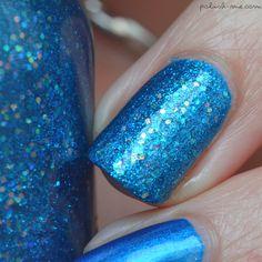 I'm Blue avec Psychedelic #Blue de #Kiko & Angel Eyes de #Orly   #PolishMe