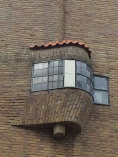 Amsterdamse school/ The Amsterdam School movement is part of international Expressionist architecture