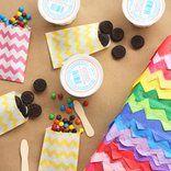 Ice cream sundae pinata by Giver's Log