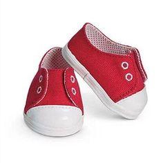 Red sport shoes Wear fit 43cm Baby Born zapf, Children best Birthday
