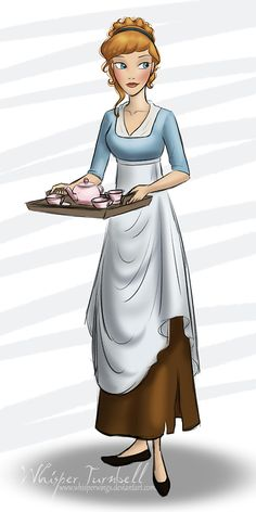 whisperingcolors:  Regency Era Cinderella