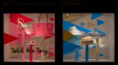Spring Window Displays 2015. Visual Merchandising Arts, School of Fashion at Seneca College.