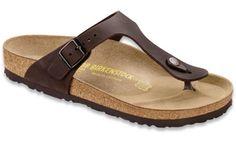 c7411f17f430 Shop Gizeh Habana Oiled Leather Sandals Birkenstock Sandals