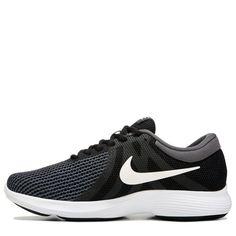 Nike Men's Nike Revolution 4 Wide Running Shoes (Black/White)