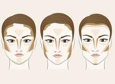 PASSO A PASSO: Aprenda a fazer o contorno certo para cada tipo de rosto