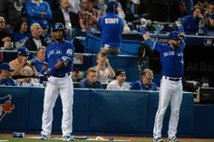 Rumors & Rumblings: Sluggers likely nearing end of run with Jays = The Toronto Blue Jays' lineup is likely to have a different look next season.  First baseman Edwin Encarnacion and right fielder Jose Bautista, their Nos. 3 and 4 hitters, are eligible to become free agents after the World Series. It seems.....