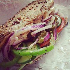 I take the #sub! #subway #eatfresh #subway #tuna #favorite #loveit #tasty #friday #fastfood #fitness #fitnesslifestyle #lovefood #Padgram