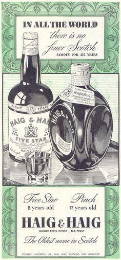 HAIG & HAIG SCOTCH Whisky TIME 08/17/1942 p. 59