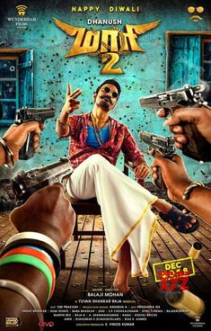 Here are the mass stills and posters of Maari starring Dhanush, Sai Pallavi and Krishna in the lead roles.Maari 2 has Sai Pallavi as Araathu Aanandhi and Krishna as Kalai. Get Movies, 2018 Movies, Movies Online, Telugu Movies Download, Full Movies Download, 2 Movie, Movie Photo, Movie Ringtones, Free Bollywood Movies