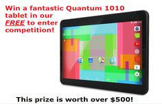 Win a fantastic tablet!