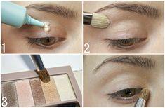 : Makeup Tutorial: Everyday Smokey Neutrals - US Makeup Trends Physicians Formula Eyeshadow, Physicians Formula Shimmer Strips, Nude Eyeshadow, Eyeshadow Palette, Beauty Secrets, Beauty Hacks, Beauty Tips, Naked Palette, Eyebrow Tutorial