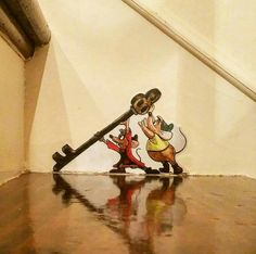 The Effective Pictures We Offer You About Disney Home Decor office A quality picture can tell you ma Disney Mural, Casa Disney, Disney Disney, Disney Kids Rooms, Disney Bedrooms, Disney Home Decor, Disney Crafts, Disney At Home, Cinderella Mice