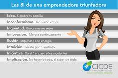#emprender #infografía #emprendedor #empleados #emprendedora #mujer