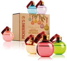 pickerings-gin-baubles   A Spoonful Of Sugar Christmas Gift Guide