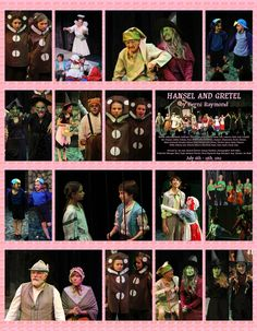 """Hansel and Gretel"" at Wheaton Drama, 2012. Starboard design by Craig Gustafson."