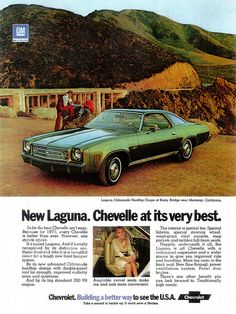 1973 Chevrolet Chevelle Laguna (USA) by IFHP97, via Flickr