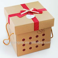 New design corrugated carton box $1.1~$3.54