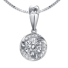 Beautiful and curvy, the circle shape diamond pendant would surely enchant her with its style and beauty. Featuring a total Carat Round cut diamonds, the pendant is handcrafted on White Gold. The pendant comes with its silver chain Pendant Design, Pendant Set, Diamond Pendant, Diamond Jewelry, Pendant Necklace, 3 Carat Diamond, Circle Shape, Circle Necklace, Jewelry Photography