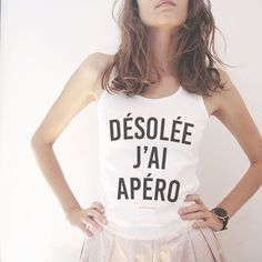 Désolé j'ai apéro ! #JaimeLaGrenadine #apero