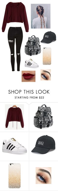 Untitled #25 by lemonitadr on Polyvore featuring Aéropostale, adidas and SO