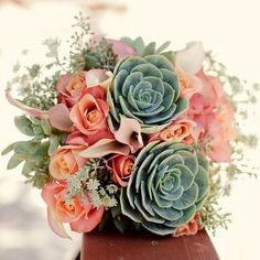 Crassulaceae flower bouquet