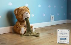 """""""No one should suffer from smelly diapers."""" #Advertising"""