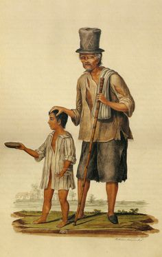 Justiniano Asuncion, Old Beggar Led by a Young Boy, private collection.