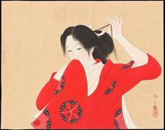 Kaburagi_Kiyokata-Makuri-Bijin_in_Red_Kimono-01-05-2007-8118-x2000.jpg 2.000×1.580 pixels