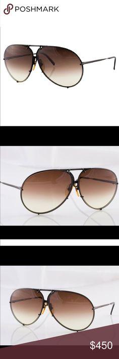 PORSCHE DESIGN carerra 80s restored sunglasses 80s vintage sunglasses restored with  new light dark  brown gradient lenses. ORIGINAL LENSES INCLUDED. Comes in plastic case. Porsche Design Accessories Sunglasses