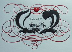 pepé le pew images | ll come up with something eventually.: Watch out Pepe'