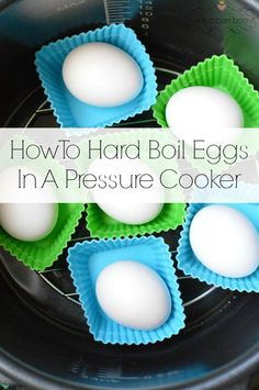Getting a perfect hard boiled egg is easy when your use your electric pressure cooker.
