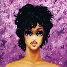Never before seen unused Prince album cover art...