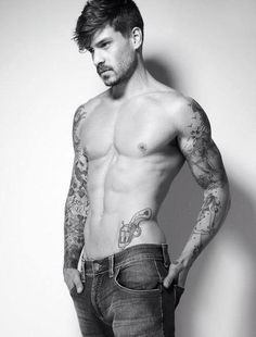 Sexy tattoos on guys