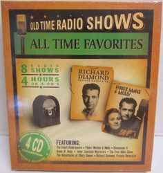 All Time Favorites : Old Time Radio Shows (2005, CD) BRAND NEW