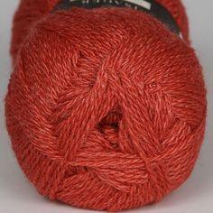 Highland Silk Coral Red - Highland Silk - Isager garn