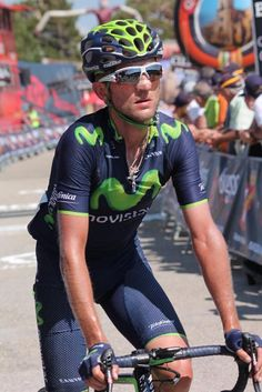 Sylwester Szmyd (Movistar Team) Photo credit © Fran Reyes