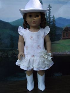 Southern Country Charm American Girl doll Soft by VintiqueDesigns, $26.99