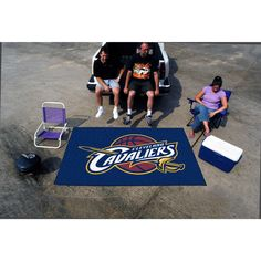 Fanmats Machine-made Cleveland Cavaliers Ulti-Mat (5' x 8') (60 inches x 96 inches)
