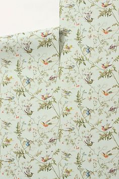 Vanuatu Twilight Wallpaper #anthropologie recover furniture/dresser with this wallpaper for guest house?