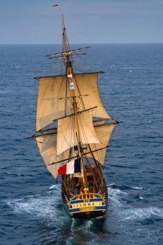 Fregata Hermione  missione compiuta e l avventura continua - Report - NAUTICA  REPORT Barche 923b625a7d0e