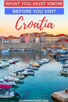 The ultimate guide on everything you need to know before you visit Croatia. Everything from what you need to make sure you pack to customer service. This guide will help you make the most of your trip to this gorgeous country. hotel restaurant travel tips Backpacking Europe, Europe Travel Guide, Travel Guides, Travel Destinations, Travel Advice, Travel Pics, Visit Croatia, Croatia Travel, European Destination