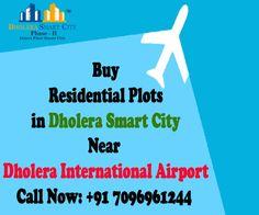 Buy Residential Plots in Dholera Smart City at affordable price near Dholera International Airport.