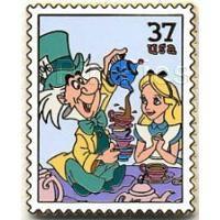 Pin 39217 USPS - Celebration (Alice & Mad Hatter)