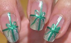 Christmas Nail Designs | ... how to create these very beautiful, festive, yet easy nail design